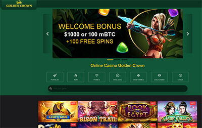 Golden Crown casino screenshot