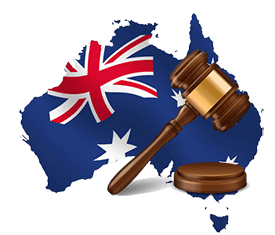 australian online casino law